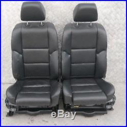 BMW Série 5 E60 SPORT CUIR NOIR intérieurs sièges avec porte cartes