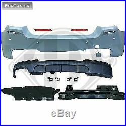 BMW Série 5 F10 Berline Arrière M Sport Pare-Choc Plastique ABS Pack Tech M5