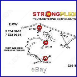 BMW Serie 7 E32, BMW Serie 5 E34 kit silentbloc suspension avant SPORT