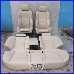 BMW Série 7 E65 Sport pearl crème beige cuir chauffé siège + 4 Portes cartes