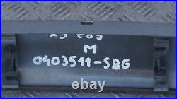 BMW X3 Série E83 M Sport Coffre Couvercle Hayon Finisseur Housse Silbergrau Gre