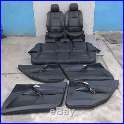 BMW X3 Série E83 SPORT CUIR NOIR siège + 4 Portes cartes