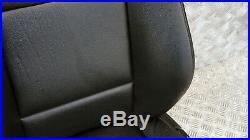BMW X3 Série E83 Sport Cuir Noir avant Gauche N/S Seat Côté Passager