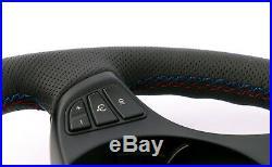 BMW X3 X5 Série E53 E83 Neuf Cuir Noir Volant Sport M-TRICOLOURED