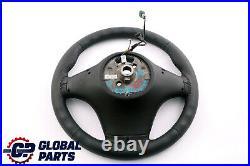 BMW X3 X5 Série E53 E83 Neuf Cuir Noir Volant Sport Noir Fils