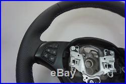 BMW X3 X5 Série E53 E83 Neuf Noir Cuir Volant Sport M-TRICOLOURED