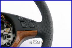BMW X5 Série E53 Neuf en Cuir Noir Volant Sport 3 Rayons