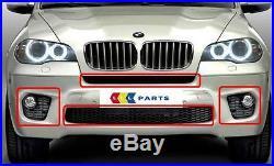 BMW X5 Série LCI 10-13 Neuf D'Origine avant M Sport Grille Pare-Choc Set 4