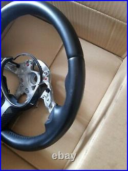 Bmw F Series M Sport Leather Steering Wheel + Carbon Insert. Volant m sport cuir