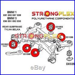 Bmw serie 1, 3, kit silent bloc suspension complète SPORT