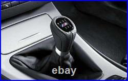 Bouton de gerar Sport Shift BMW M en cuir série 3 E90 E91 E92 E93 pour