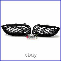 Calandres Sport Luxe Style Diamant Noir Bmw Serie 3 Gt F34 Gran Turismo (05118)