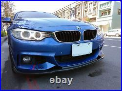 Carbon Front Lip Spoiler Hm Style For Bmw F32 F33 F36 4 Series M Tech M Sports