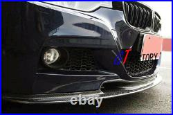Carbon Front Lip Spoiler Vr Style For Bmw F30 F31 3 Series M Tech M Sports Only