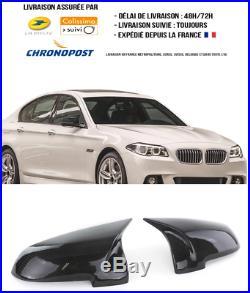 Coques rétroviseurs sport Vrai Carbone BMW Série 5 GT F07 F10 F11 Look M5 Motors