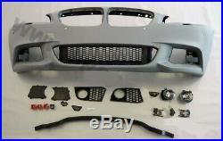 Corps Kit Peint BMW F10 5 Série M Sport Avant Arrière Pare-Choc Jupes Conversion