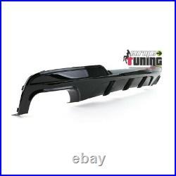 Diffuseur Sport Doubles Sorties Bmw Serie 5 F10 F11 Sport Pack M (05330)