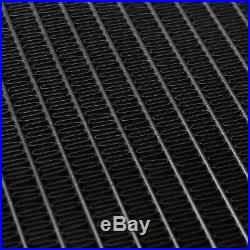 Direnza Noir Alliage 45mm Sport Pour Radiateur Bmw Série 3 E30 E36 E34 82-01