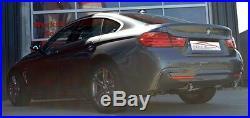 FMS Double Sortie D'Échappement Sport BMW Série 3 316d 318d F30 F31 Pour