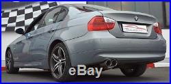 FMS échappement sport BMW 3 Série E90 325i 330i N53 Limousine BJ 2007-06/2012