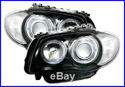 Feux Phares Av Avant Angel Eyes M2 Bmw Serie 1 E81 E87 Excellis Sport Design