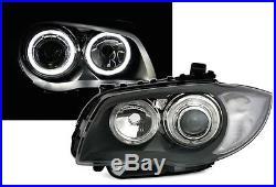 Feux Phares Led D1 Avant Angel Eyes Bmw Serie 1 E81 E87 Sport M M1 Pack Grand