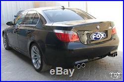 Fox le sport Échappement Duplex acier inoxydable BMW Série 5 E60 M5 Ø70mm avec