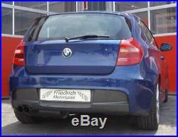 Friedrich Motorsport Échappement Échappement Sport pour BMW Série 1er E81 /
