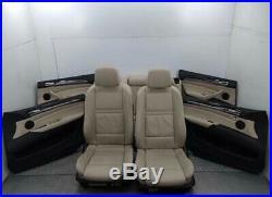 Intérieur complet cuir beige sport BMW (série 6, X6 X5) e70 e71 e72 etc