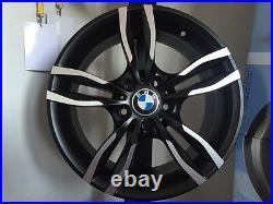 Jantes en Alliage BMW Serie 1 De 17 M1 Nouveaux Offre MAK LUFT ICE BLACK SPORT