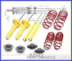 Kit Suspension Sport +Coupelles -60/-40mm BMW Série 3 E30 6cyl 51mm TA-Technix