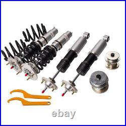 Kit suspension combines filetes 24 ways damper Ajustable Pour BMW 3-series E46