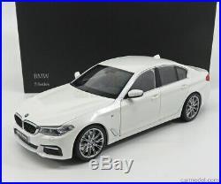 Kyosho 1/18 BMW 5-SERIES (G30) M Sport 2017 Minéral Blanc 08941W