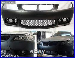 M3 Aspect Pare Choc avant pour BMW E90 E91 08-11 LCI Série 3 Sport M Série Tech