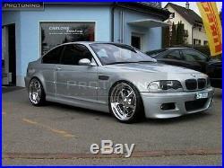 M3 Aspect Pare Choc avant pour BMW e46 Série 3 Sport ABS 2D 4D Coupé Cabriolet M