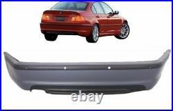 M-SPORT ABS Pare-Chocs Arrière pour BMW E46 3 Série avec Pdc 98-05