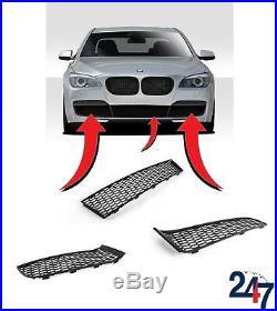 Neuf BMW 7 Série F01/F02 2008-2015 M-SPORT Pare-Choc Inférieur Grille Set Trois