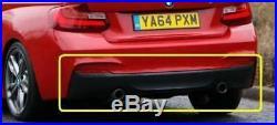 Neuf D'Origine BMW Série 2 F22 F23 2014- M-SPORT Diffuseur Arrière avec Double