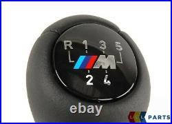 Neuf Original BMW 3 Série E46 M Sport 5 Vitesse Noir Pommeau Levier Cuir 7896031