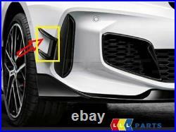 Neuf Véritable BMW 1 Série F40 M Sport Pare Choc Avant Aéro Spoiler Pression