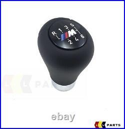 Neuf Véritable BMW 3 5 6 X3 X4 Série M Sport 6 Vitesse Noir Pommeau Levier Cuir