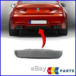 Neuf Véritable BMW M6 Série F12 F13 F06 Arrière M Sport Pare-Choc Housse