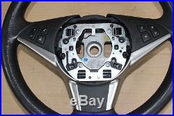 ORIGINAL BMW Série 5 E60 E61 E62 E63 E64 VOLANT gainé de cuir SPORT NOIR 6763373