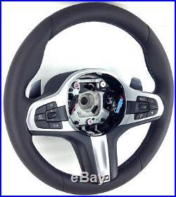 Original BMW G30 G31 Série 5 M Sport Tri-Stitch Cuir Nappa Direction Roue 9D
