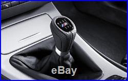 Original BMW M Cuir Sport Levier de Vitesses LHD 3 Série E90 E91 E92