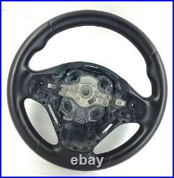 Original BMW M Sport Cuir Noir Palettes Direction Roue F30 F20 Etc. 2A