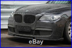 P-Performance avant M Sport Pare-Choc Séparateur / Spoiler pour BMW 7 Série F01