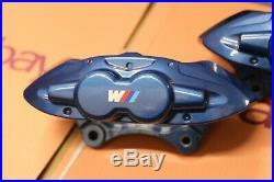 Paire Véritable BMW 1 2 3 4 Série Brembo M Sport Frein Étrier avant Bleu F30 F20