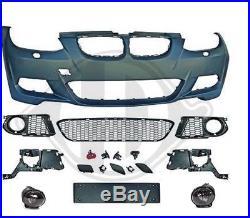 Pare Choc Parechoc Avant Pack M Sport Design Bmw Serie 3 E92 Et E93 Phase 1 De 2