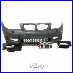 Pare Choc Sport Aerodynamique M1 Bmw Serie 1 E81 E82 E87 E88 Avec Pdc (04488)